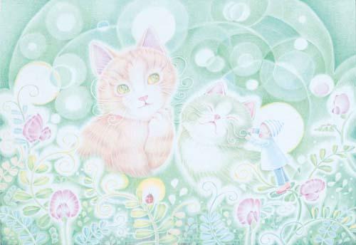 9103:「サロン・ド・カラスノエンドウ」Michiyo