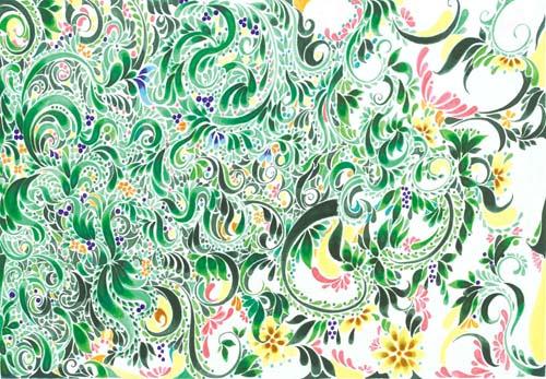 9100「緑の結果」廣瀬美緒子