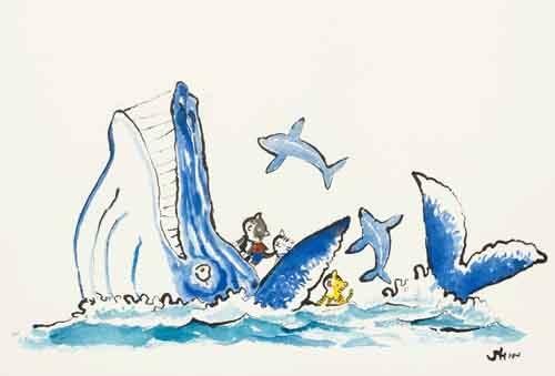 9342「クジラと遊んだ日」蔵貫信