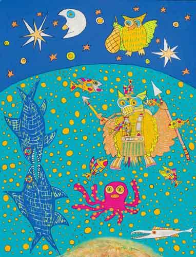 9335:「鮫の生き物を捕らえる(捕獲)