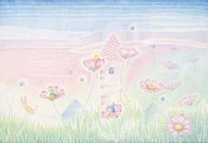 09201「秋桜ゆれて」ミィ