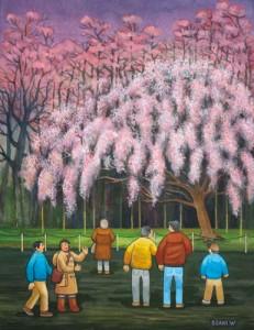 六義園~夜桜~